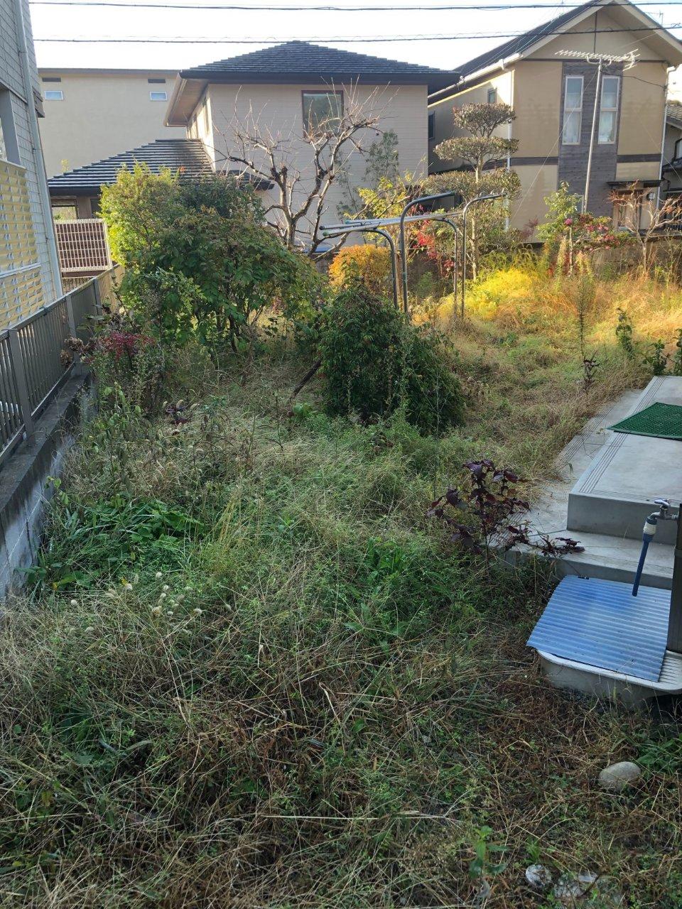 姫路市 お庭リフレッシュ工事