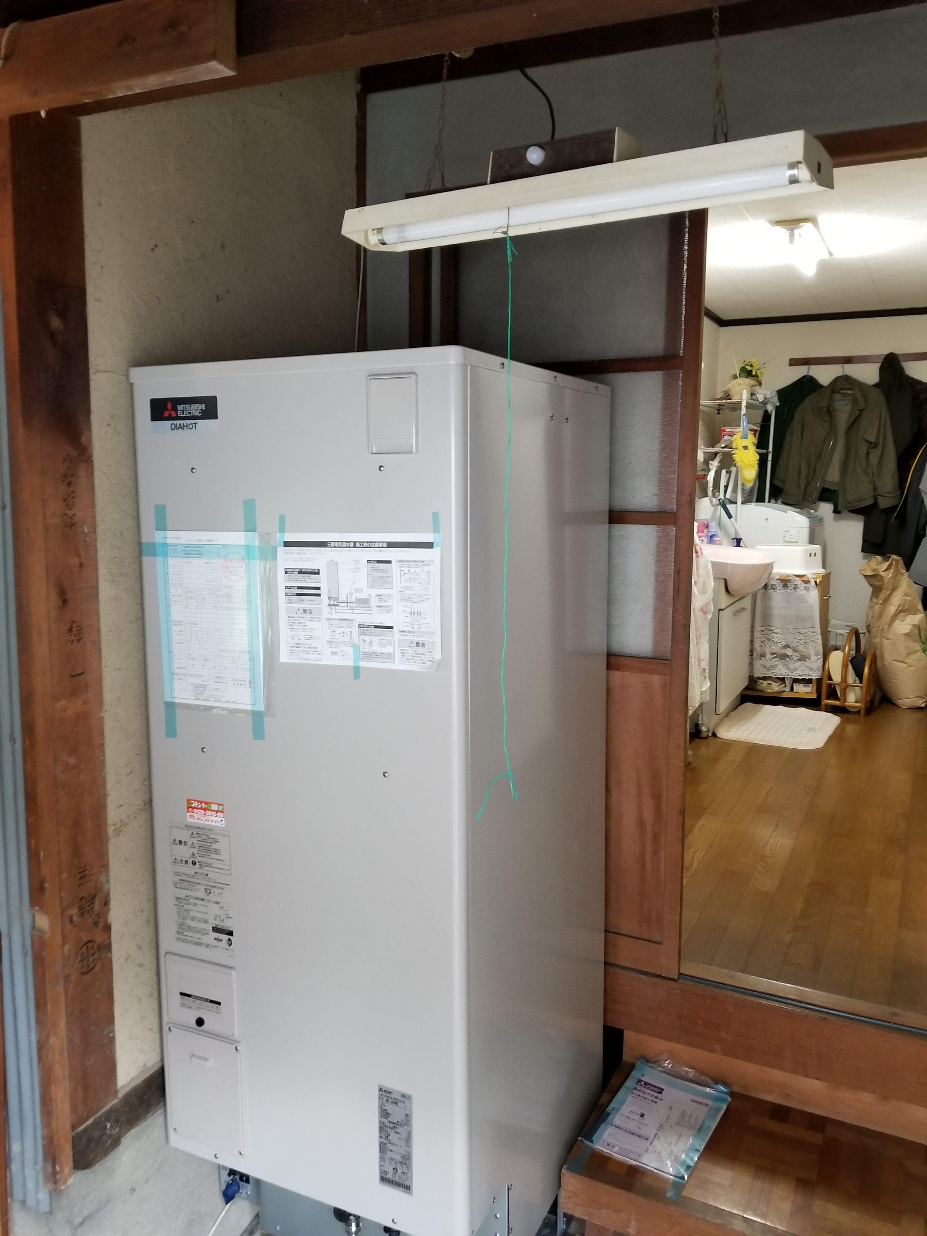姫路市 電気温水器工事
