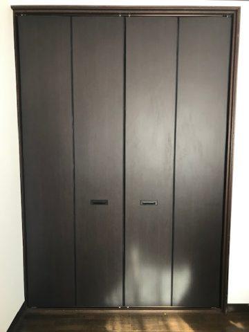 姫路市 クローゼットの扉が取れた