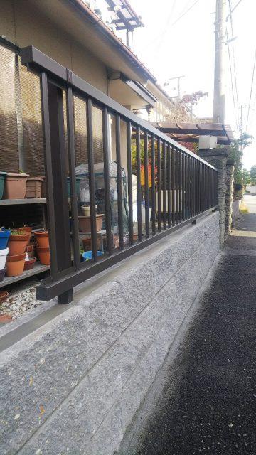 姫路市 ブロック塀工事