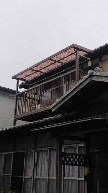 姫路市 テラス屋根取替工事