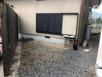 スチールフェンス 取付 姫路