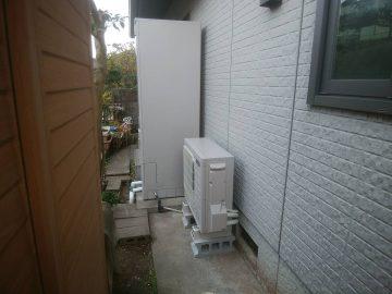 相生市 電気温水器からエコキュートへ交換