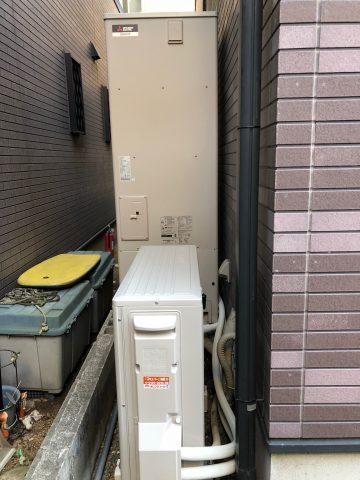 姫路市 エコキュート交換工事
