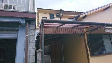 トタン屋根施工前①