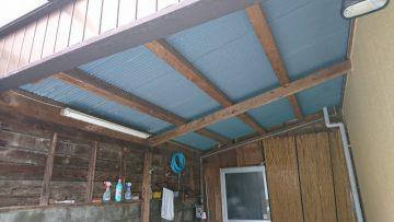 赤穂市 トタン屋根を張替える