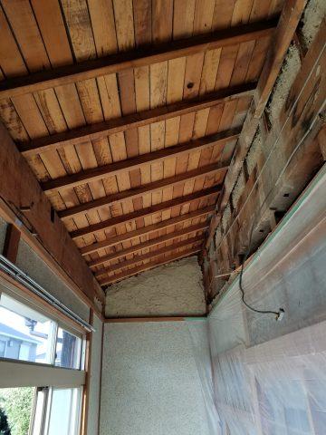 姫路市 縁側天井改修