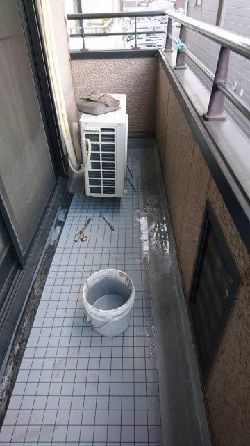 姫路市 ベランダ防水工事
