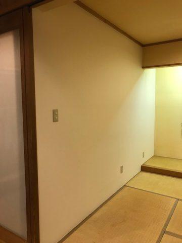 姫路市 壁に穴が開いてしまって