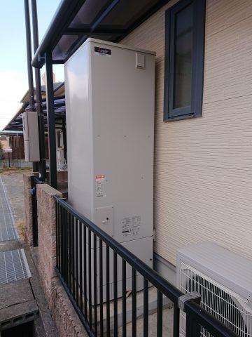 姫路市 電気温水器からエコキュートへ