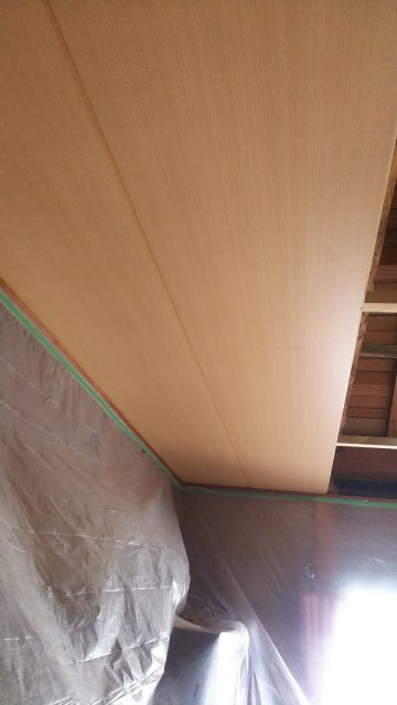和室天井貼替