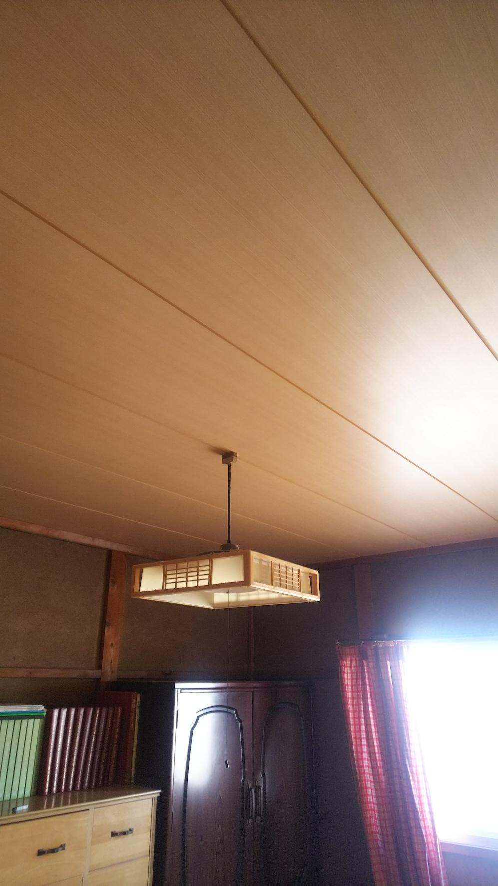 姫路市 和室天井貼替工事