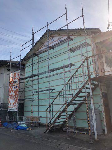 アパート外壁工事