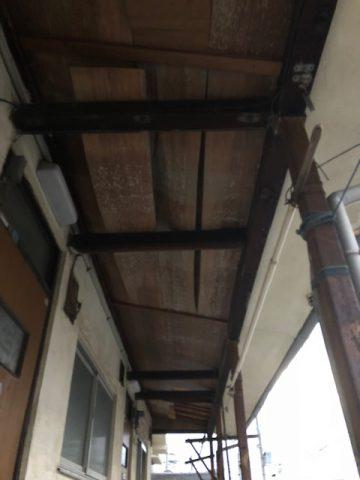 アパート天井改修