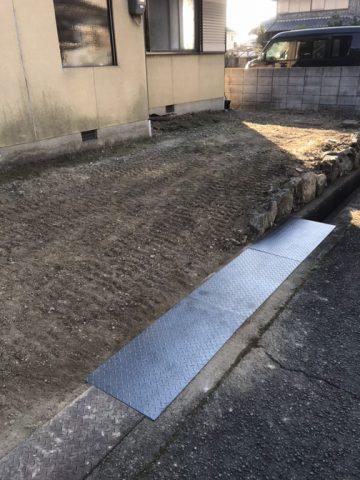 姫路市 駐車場改修工事