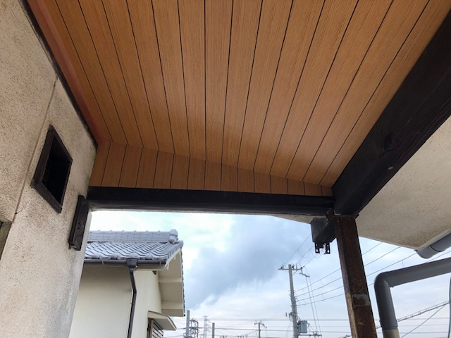 姫路市 アパート廊下天井改修