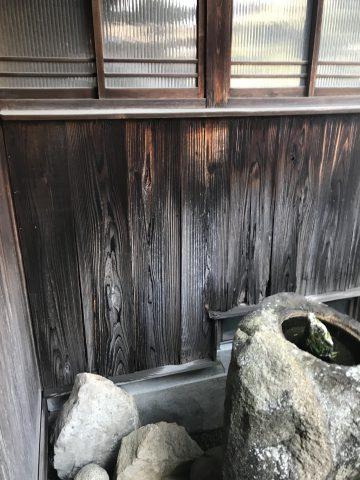 姫路市 焼板張替え