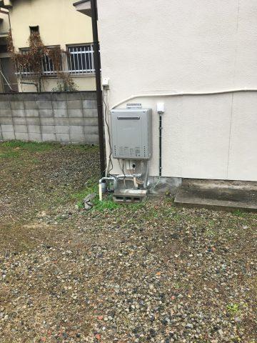 姫路市 ガス給湯器入替工事
