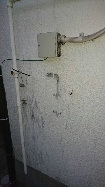 取替前外壁②