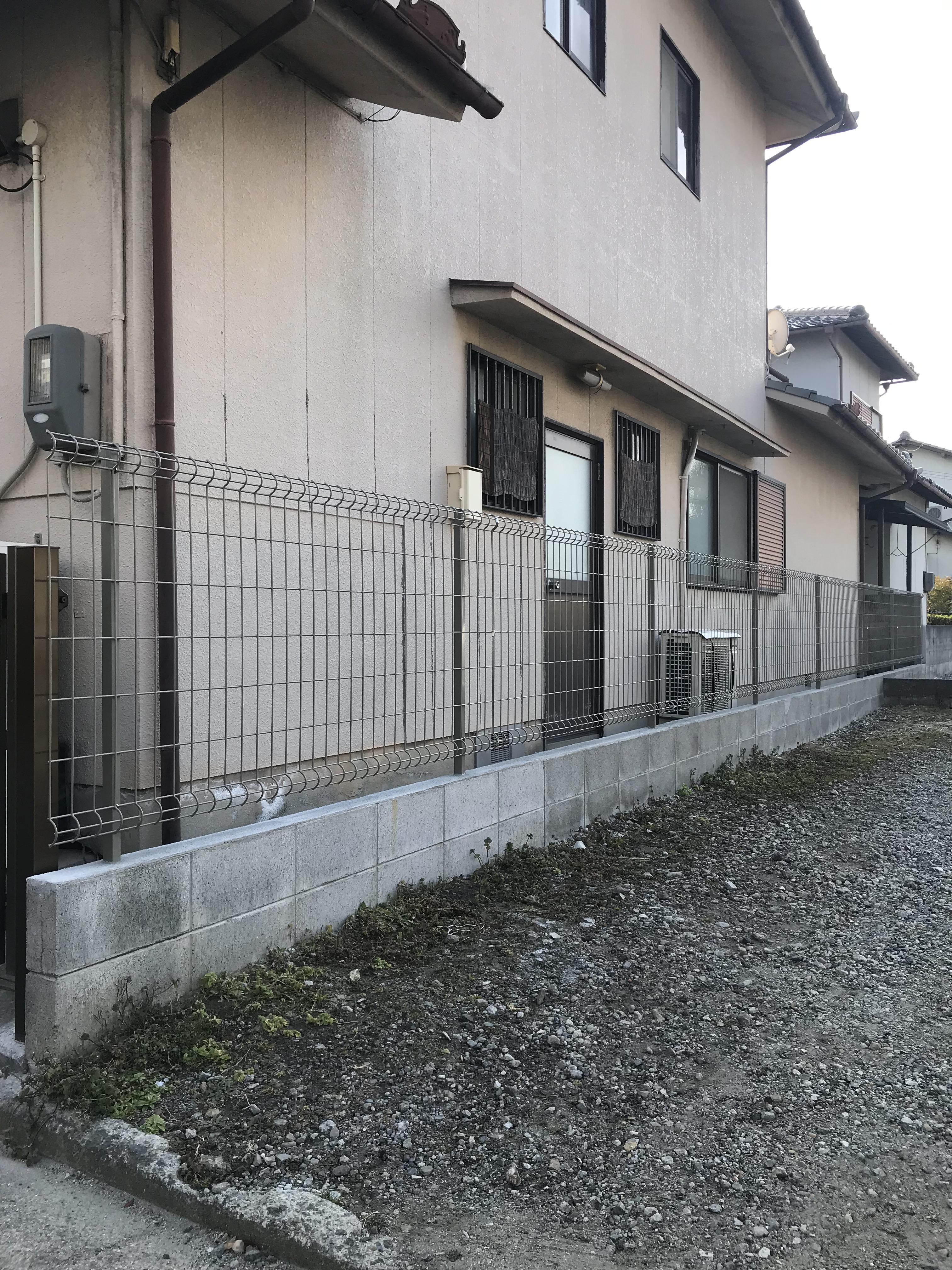 加古川市 うちのブロック塀も危険?
