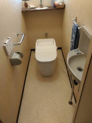 赤穂市 スッキリトイレへの取替工事