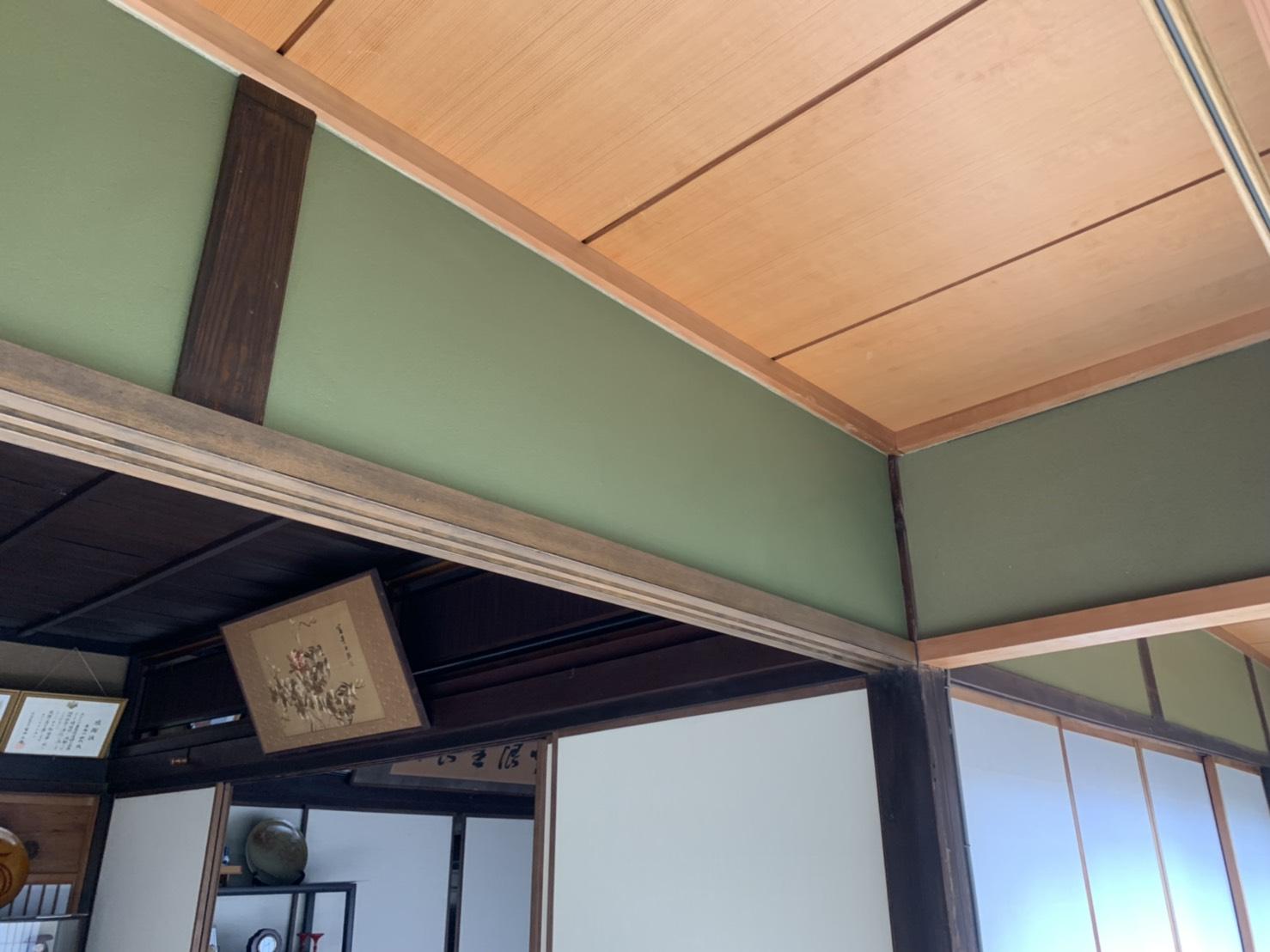 姫路市 和室鴨居改修工事