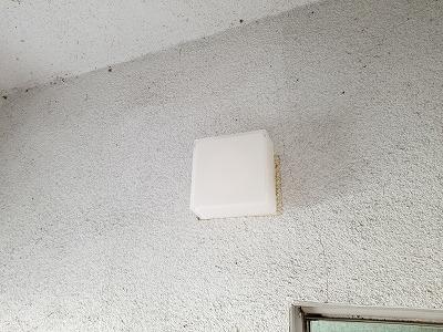 高砂市 浴室照明交換