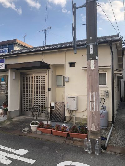 姫路市 平屋の外壁塗装