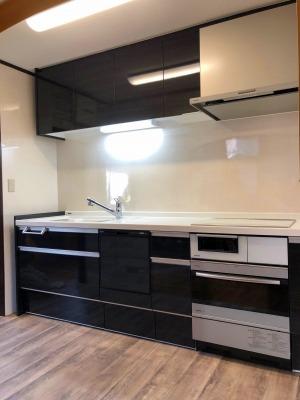 相生市 オーブン付キッチンへリフォーム工事