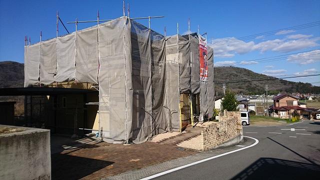 赤穂市 外壁を塗装する