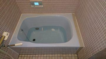 浴槽施工後①