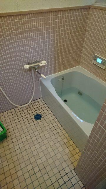 浴槽施工後②