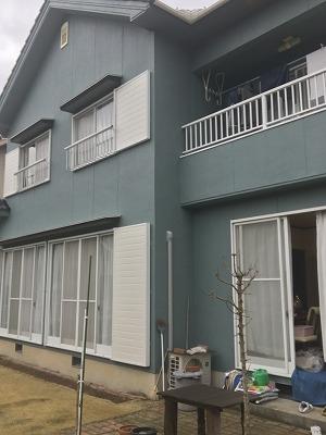 姫路市 かわいい色の外壁塗装