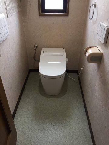 上郡町 タンクの無いトイレ交換