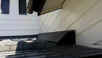 屋根 奥付 雨漏り