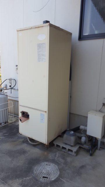 温水器取替