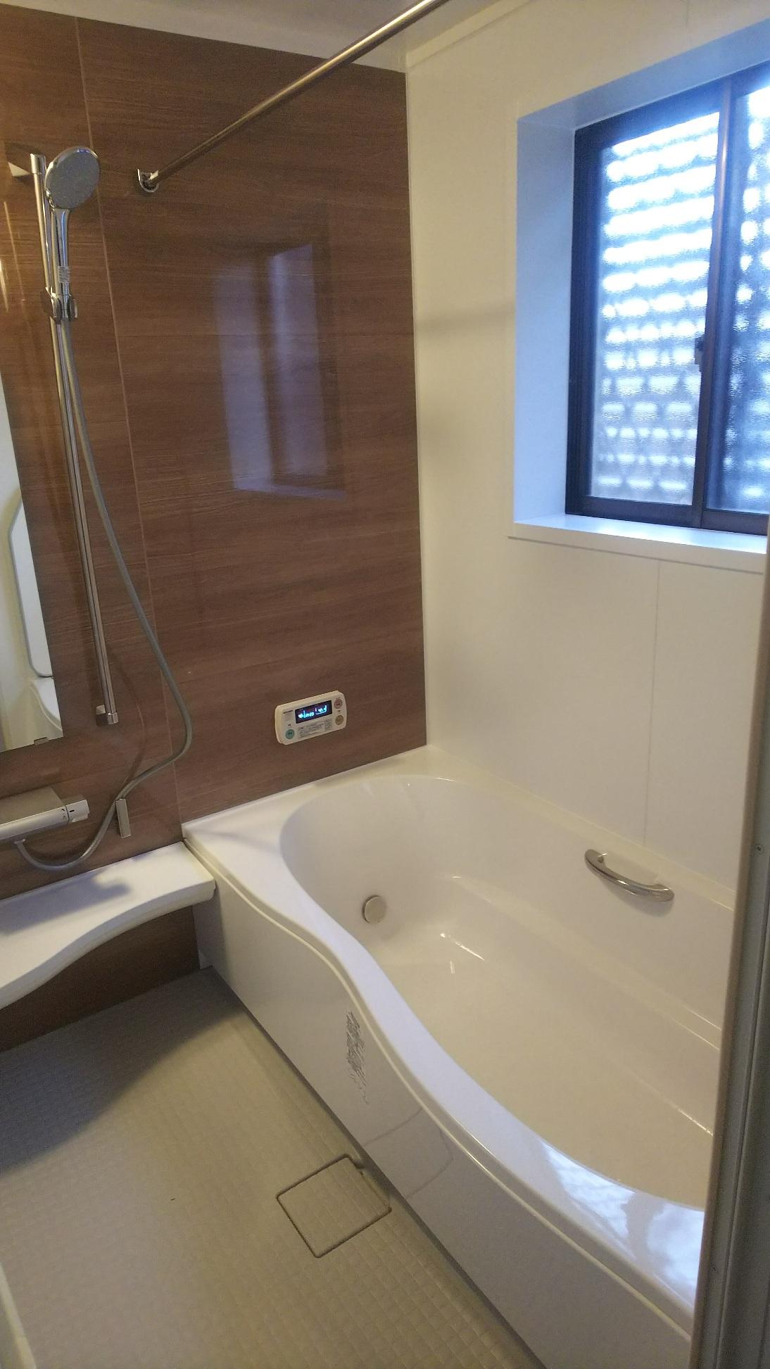 姫路市 お風呂の改装工事