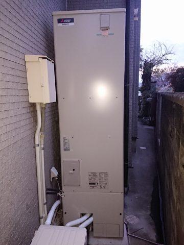姫路市 石油給湯器からエコキュートに取替