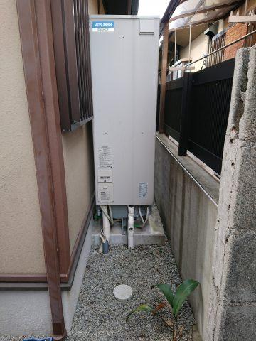 姫路市 電気温水器から水が漏れていた