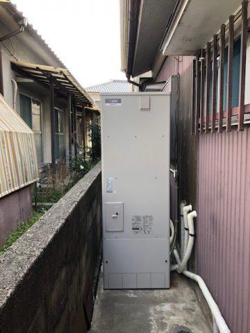 姫路市 電気温水器からエコキュートへ交換
