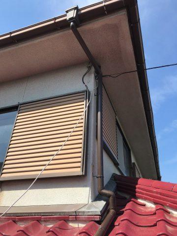 姫路市 樋の修理