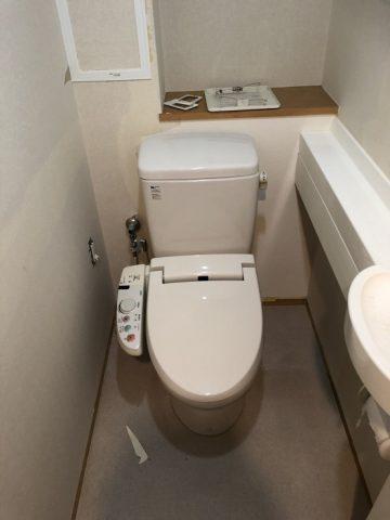 トイレ交換、他工事