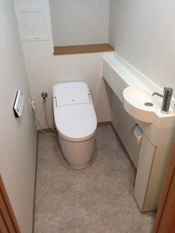 赤穂市 トイレ取替、他工事