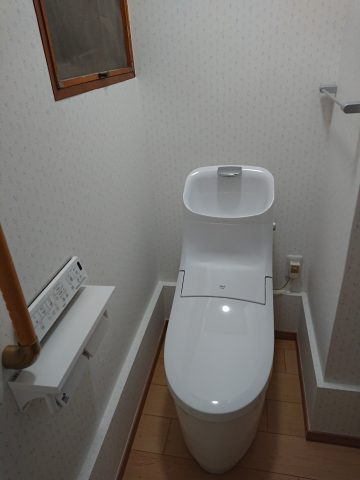 姫路市 トイレのリフォーム工事