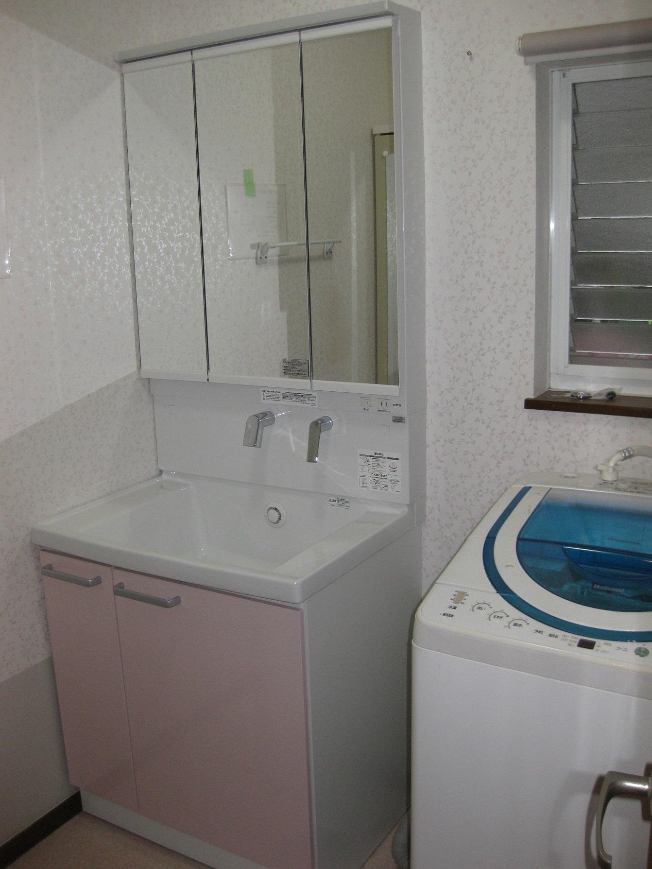 姫路市 洗面所の改修工事
