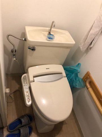 C720からアメージュZフチレス 交換 トイレ リフォーム