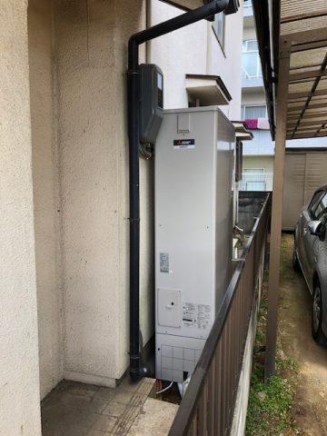 姫路市 電気温水器から薄型エコキュートへ交換