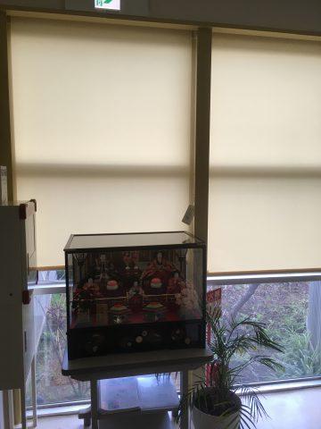 姫路市 ロールスクリーン取り付け工事