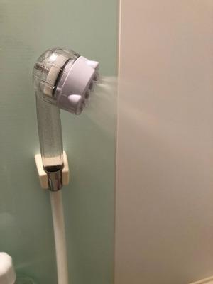 姫路市 シャワーヘッドをサイエンス ミラブルへ取り替え