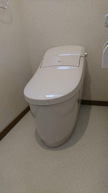 たつの市 トイレを取替える